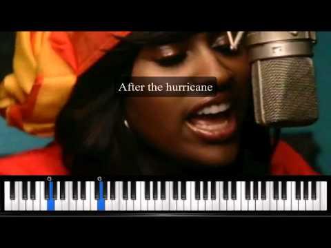 After The Hurricane by Jazmine Sullivan - Karaoke Instrumental Backing Track