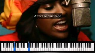 After The Hurricane by Jazmine Sullivan - Karaoke Instrumental Backing Track