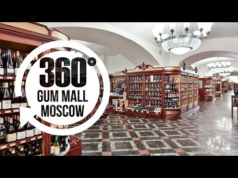 GUM Mall Moscow Russia in 360° | Best Places in Moscow