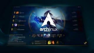 Install new league of legends client (League client alpha) on arch linux / manjaro 2017