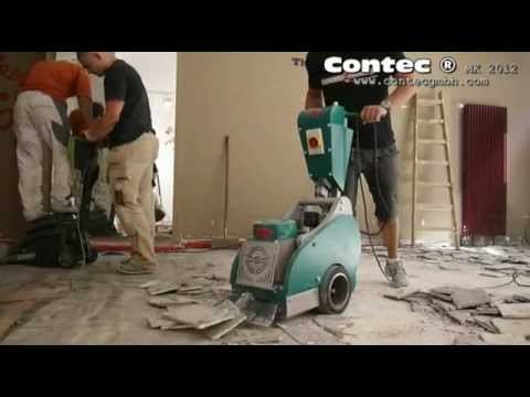 contec bull fliesen entfernen removing ceramic tiles youtube