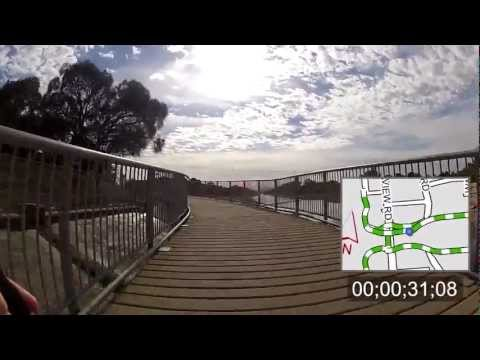 Getting around Adelaide by bike - River Torrens Linear Park Trail