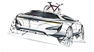 Car Sketch & Design