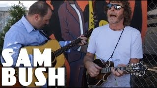Sam Bush - Eight More Miles To Louisville - backstage performance at Bonnaroo