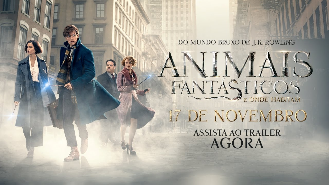 Animais Fantásticos e Onde Habitam - Trailer Final (leg) [HD]