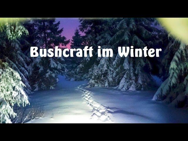 Winter im Schwarzwald - Bilder, Kleidung bei Kälte, Nahrung, brennt der Trangia?, ...