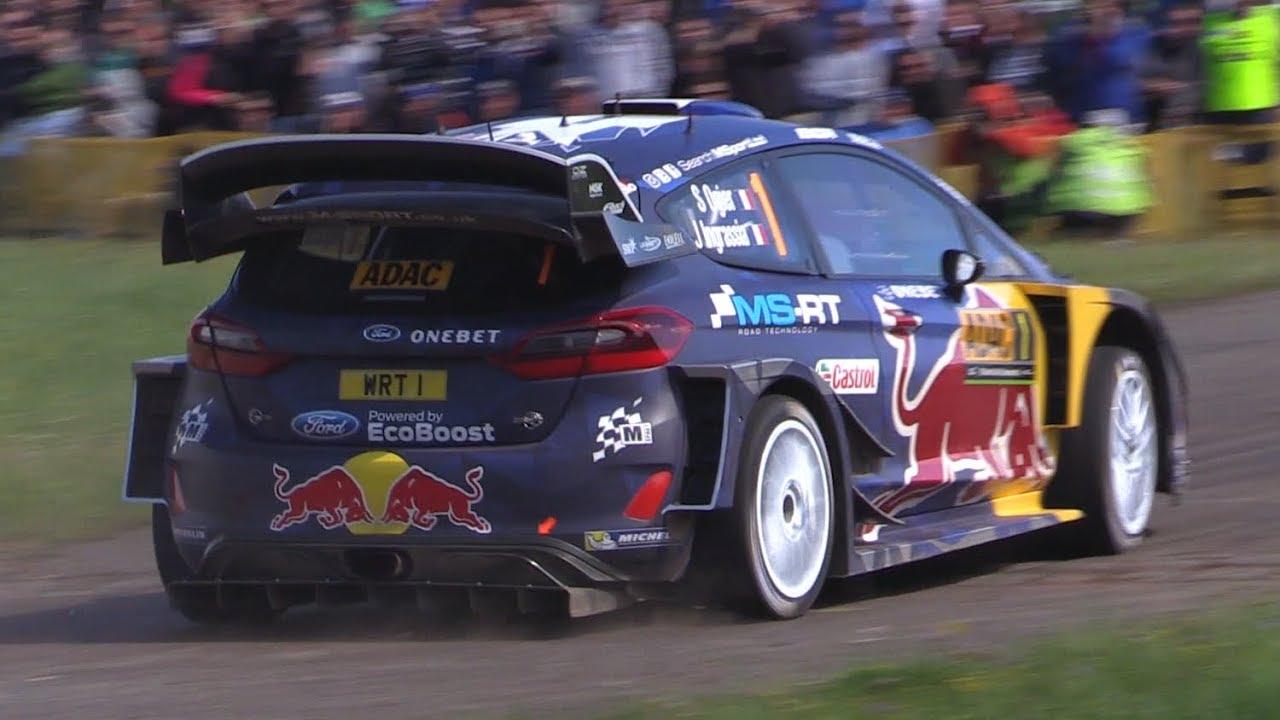 Best of WRC ADAC Rallye Deutschland 2017 - Maximum Attack, Jumps, Flat Out & More!