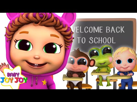 Back To School Compilation | Educational Nursery Rhymes | 2 Hour Compilation