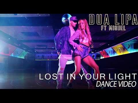 Dua Lipa - Lost In Your Light (OFFICIAL dance video by Mandy Jiroux)