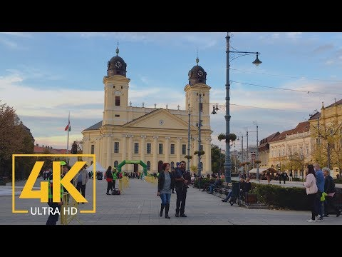 4K Debrecen City, Hungary - Cities of the World - Urban Documentary Film shot with iPhone 6S