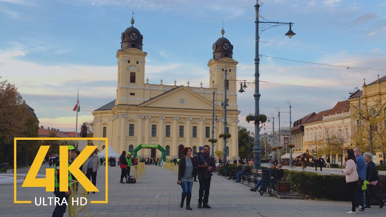 4K Debrecen City, Hungary - Cities of the World - Urban Documentary Film shot with iPhone 6S