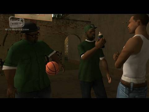 GTA San Andreas - Walkthrough - Mission #3 - Tagging up Turf (HD)