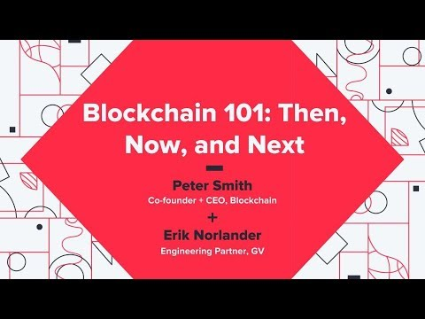 Then, Now and Next - Peter Smith (Blockchain)