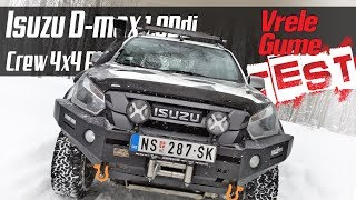 ISUZU D-Max MONSTER - Road TEST by Miodrag Piroški (bonus video)