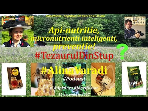 Apicultura din Romania Live 15 dec 2017 Ing Alina Varadi