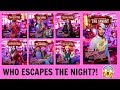 ESCAPE THE NIGHT S3 ALL CAST POSTERS AND DEATH GUESSES! | PositiveRemark