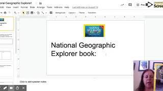 National Geographic Explorer! - Google Slides