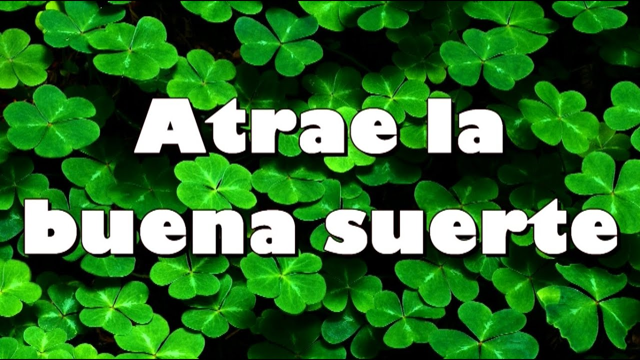 How to attract a good luck the secret of law of - Rituales para sacar la mala suerte ...