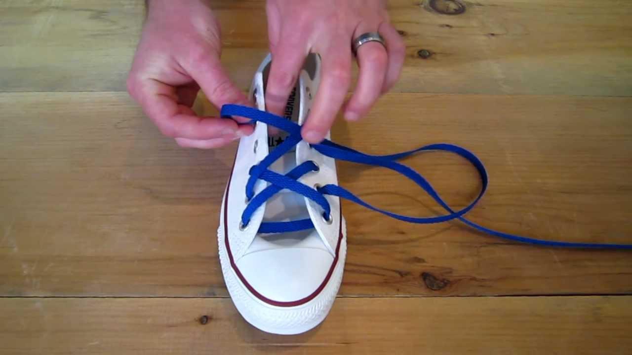 Hash Lacing - Gaya mengikat tali sepatu keren