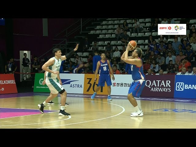 Highlights: Philippines vs Kazakhstan   Basketball M Prelims   2018 Asian Games