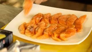 Рыбная лазанья из кеты