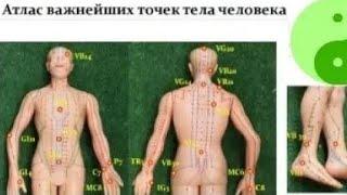 ❗АТЛАС ВАЖНЕЙШИХ ТОЧЕК ТЕЛА ЧЕЛОВЕКА . Примеры массажа