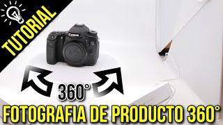 👉📸 Como hacer Fotografia de producto 360 con FOLDIO360 de Orangemonkie | Julian Marinov