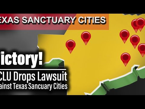 ACLU drops lawsuit against 7 Texas Sanctuary Cities for the Unborn | The Mark Harrington Show