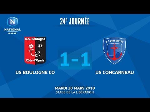 J24 : US Boulogne CO - US Concarneau (1-1), le replay I National FFF 2018