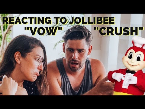 FOREIGNERS react to Kwentong JOLLIBEE VALENTINE'S Series 2017 - VOW AND CRUSH