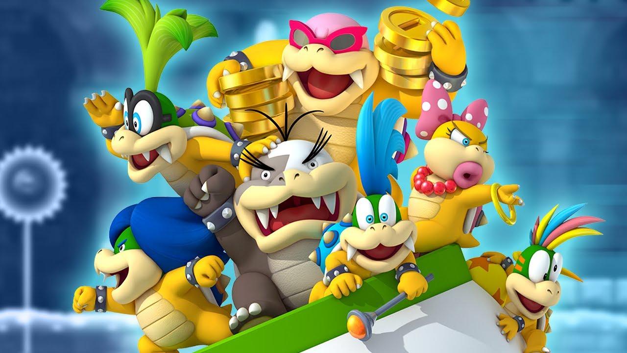 Every Koopaling Boss Battle In New Super Mario Bros 2