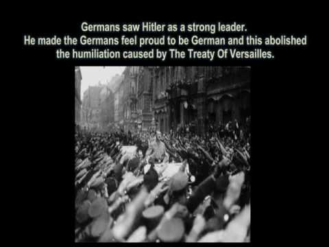 hitler and the treaty of versailles The versailles treaty of 1919 was one of the most outrageous and predatory treaties in history the treaty of versailles formally ended the state of war between germany and the allied powers the end result was the rise of hitler.