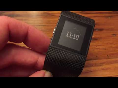 How to change time on the fitbit blaze