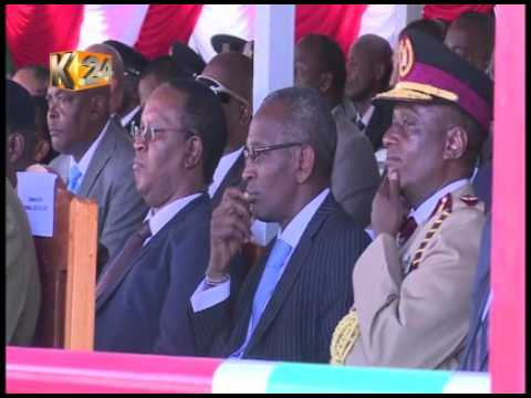 President Kenyatta presides over 49th GSU pass out parade