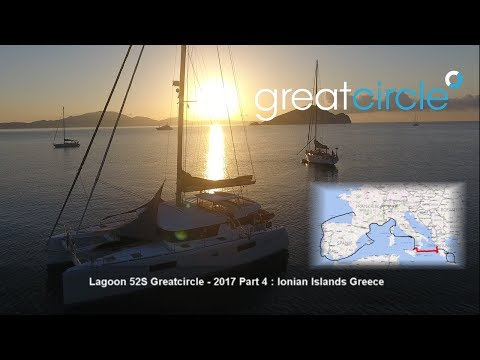 Sailing Cat Greatcircle - Overview 2017 Part 4 : Ionian Islands Greece (ep. 41 - 46)