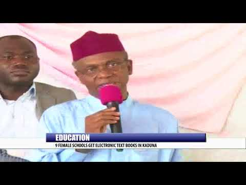 EDUCATION: 9 FEMALE SCHOOL GET ELECTRONIC TEXT BOOKS IN KADUNA