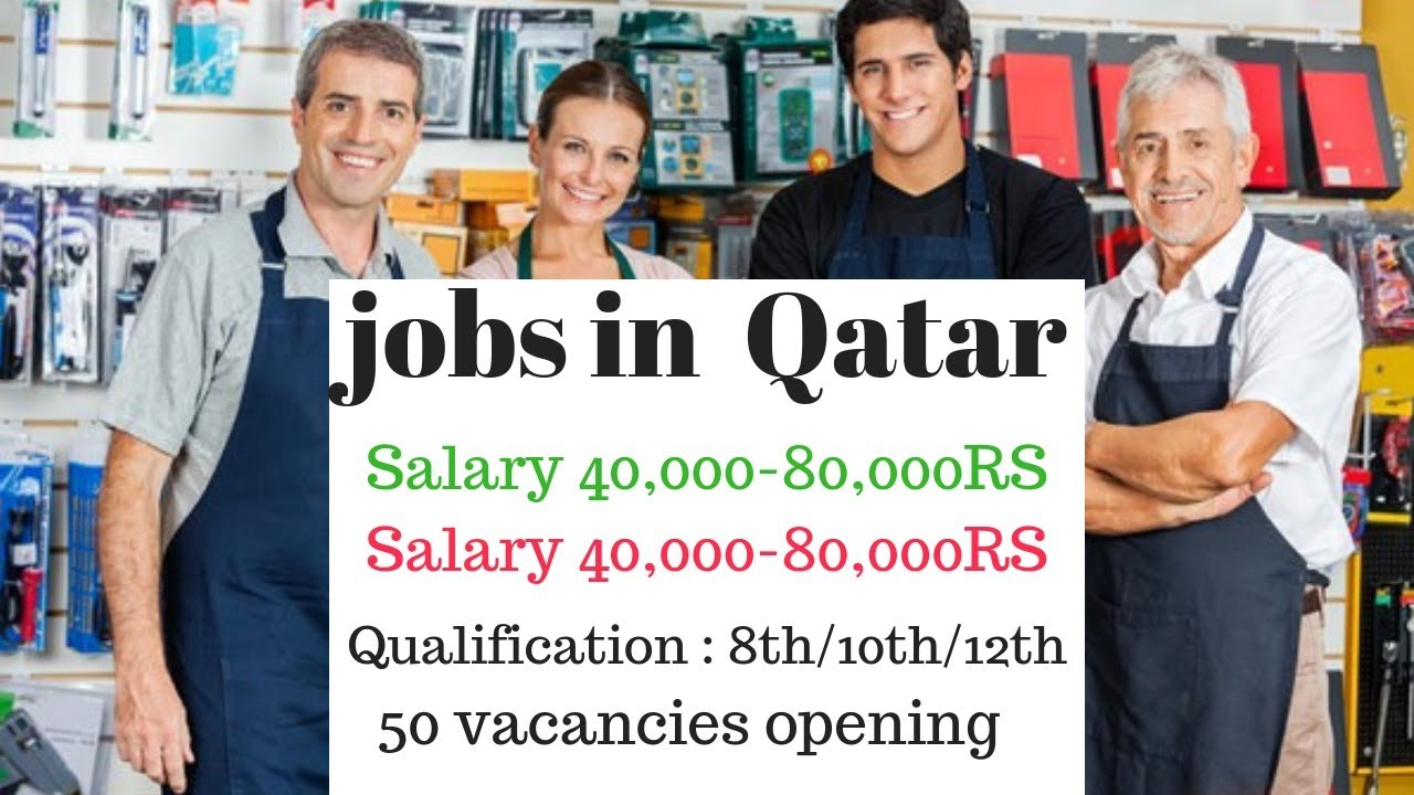 50 urgent vacancies required // jobs in Qatar Doha // Salary 40,000-80,000RS