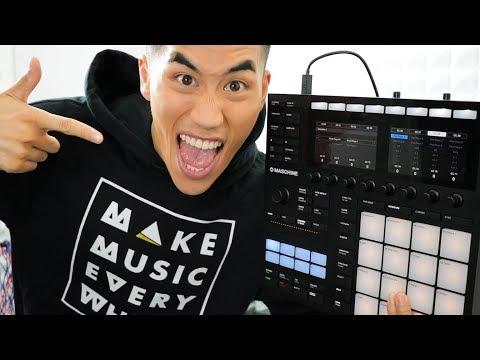 First jam with Maschine mk3 + Komplete Kontrol mk2 | Andrew Huang