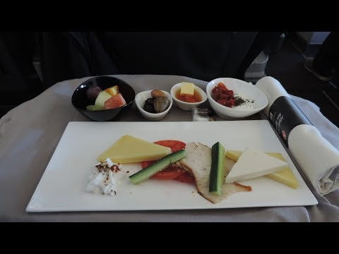 Turkish Airlines Business Class, Istanbul-Cairo
