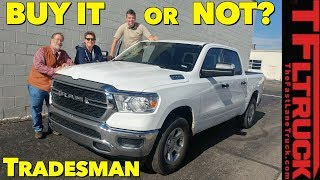 2019 Ram 1500 V6 Tradesman | Unfiltered Real World Buddy Review