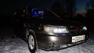 Новогоднее авто ВАЗ 2111