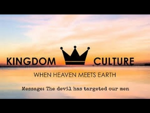 Dr Myles Munroe:  The  devil'sTarget is our Men.