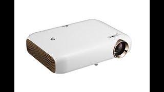 LG PW1500G LED Projektor 1500 Lumen 720p HD Bluetooth 30000h 3D-Ready Screenshare bis 100 Zoll