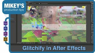 how to transition footage with glitchify in after effects