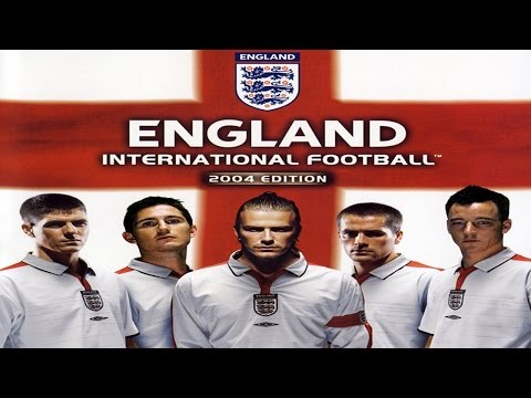 A Look @ England International Football 2004 Edition (PS2) - [England vs Argentina]
