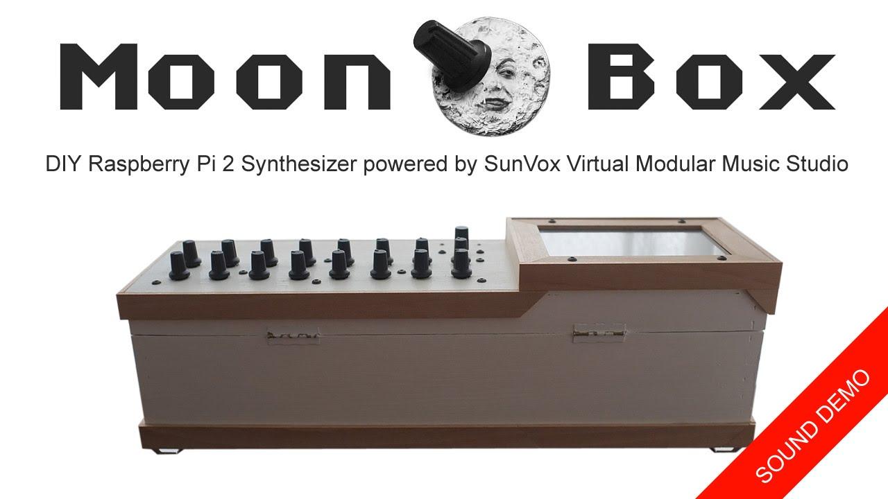 MoonBox - DIY Raspberry Pi 2 Synthesizer powered by SunVox Virtual Modular  Music Studio