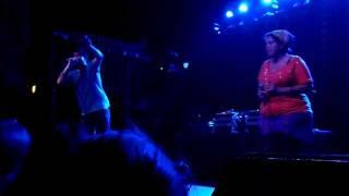 Aesop Rock & Kimya Dawson - aquariamgoeers - live Aggie Theater 8/20/11