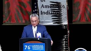 NCAI 2019 NATIONAL CONGRESS OF AMERICAN INDIANS NCAI President  Jefferson Keel Opening address
