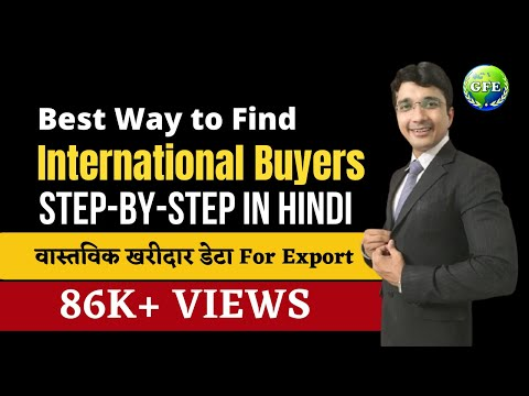 Find Real Genuine Buyers Data For Export (Step-By-Step Guide)- Best Way to Find International Buyers