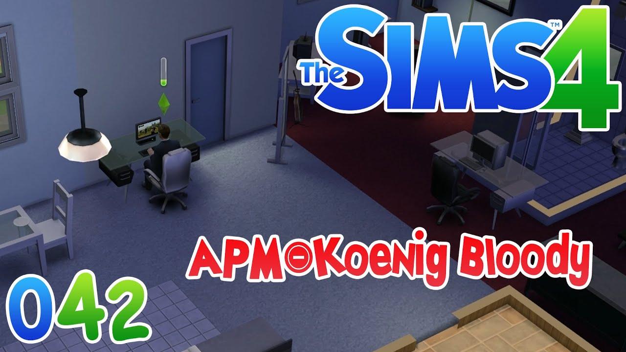 Die Sims 4 #042 - APM König Bloody ☆ Let\'s Play Die Sims 4 - YouTube